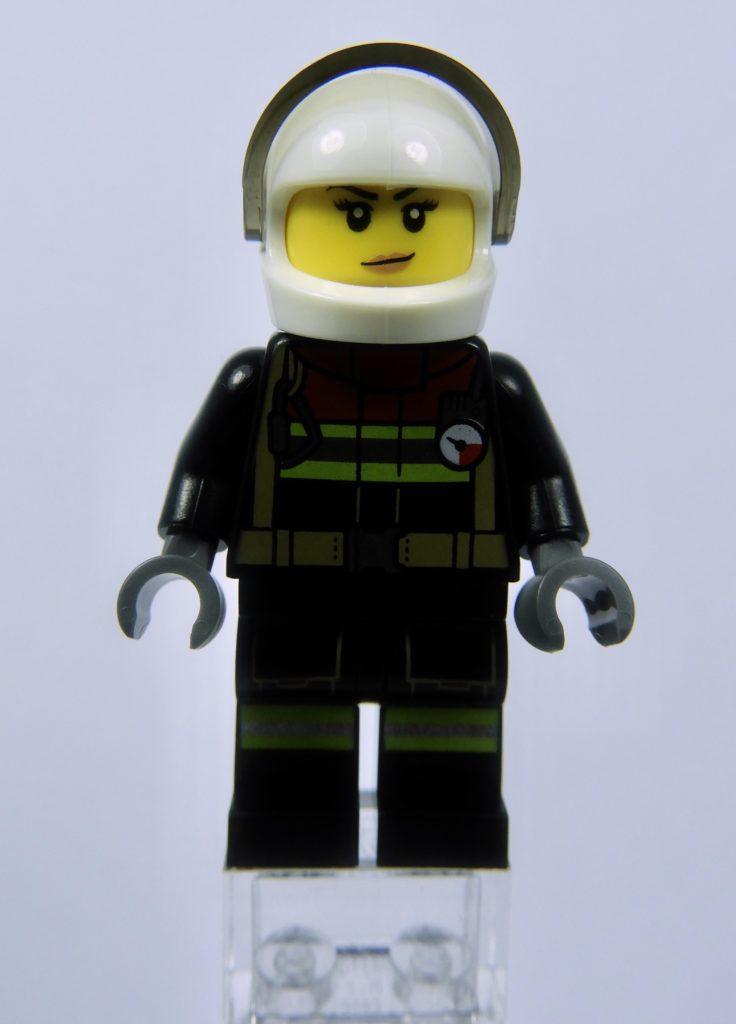 LEGO CITY 60292 Town Center Minifigure Fire Front Alt