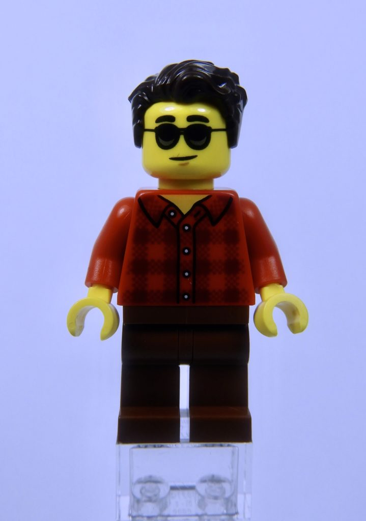 LEGO CITY 60292 Town Center Minifigure Man Front