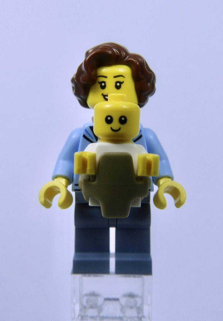 LEGO CITY 60292 Town Center Minifigure Mother and Baby