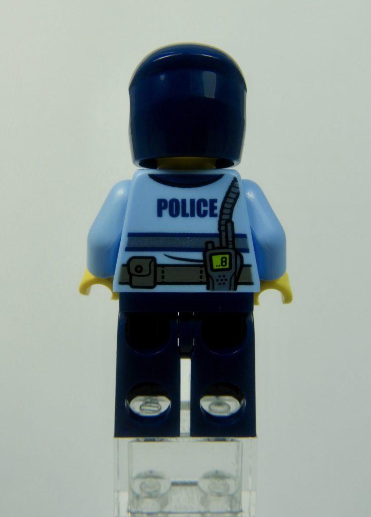 LEGO CITY 60292 Town Center Minifigure Police Back