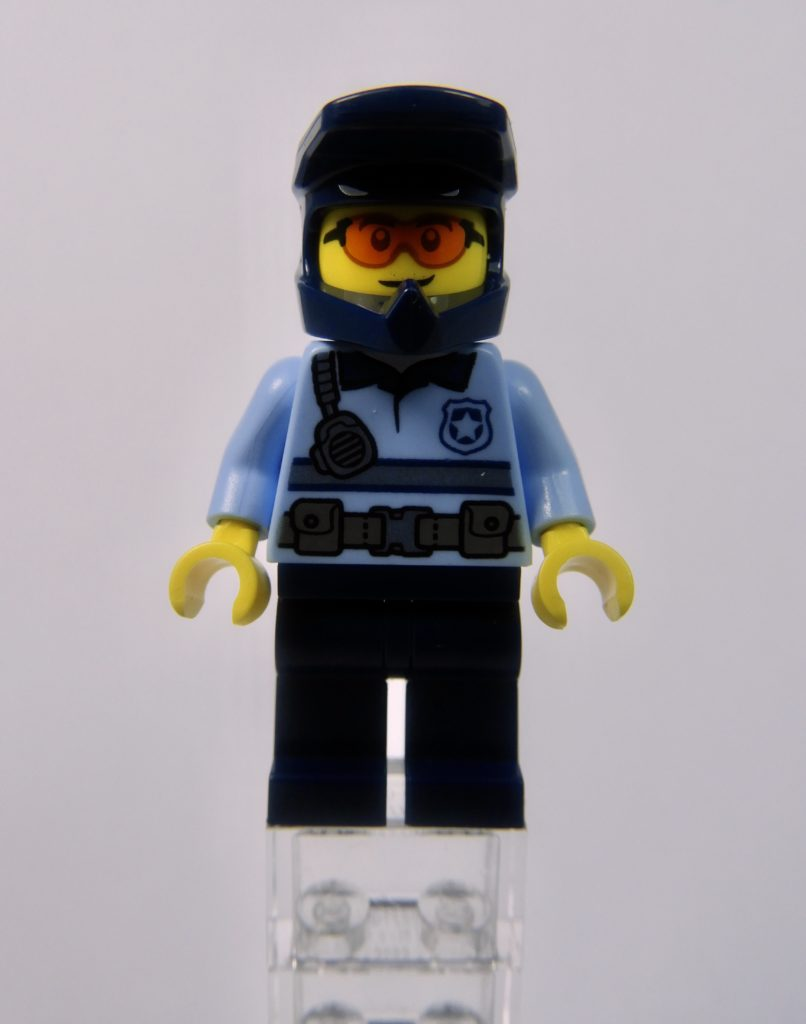 LEGO CITY 60292 Town Center Minifigure Police Front