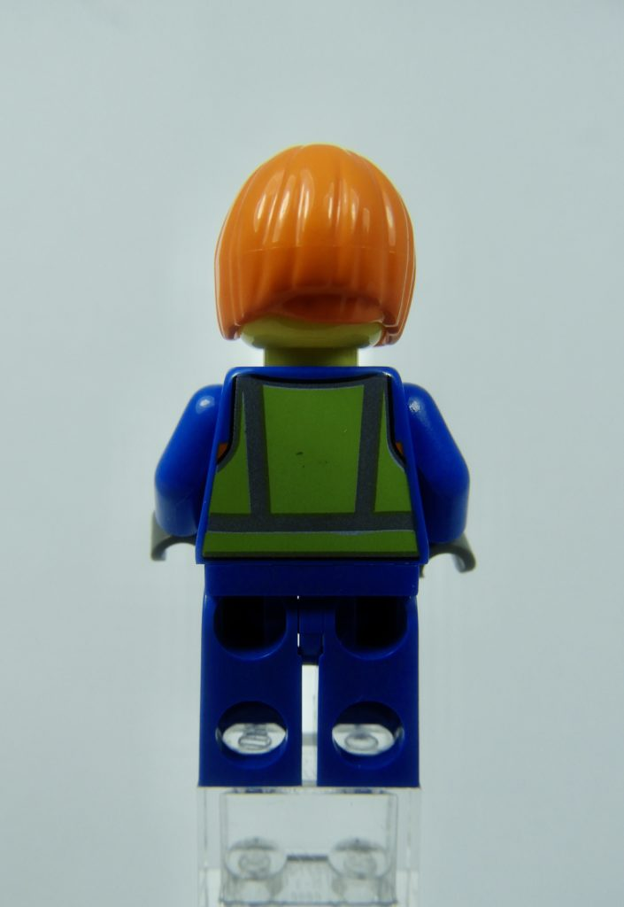 LEGO CITY 60292 Town Center Minifigure Shirley Keeper Back