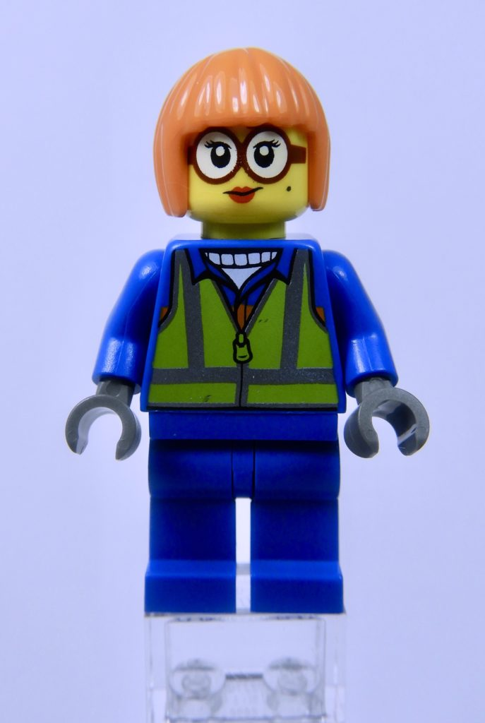LEGO CITY 60292 Town Center Minifigure Shirley Keeper Front