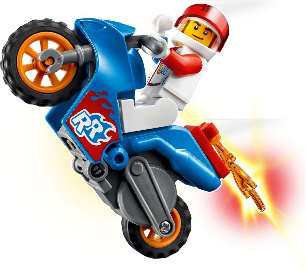 LEGO CITY 60298 Rocket Stunt Bike 2
