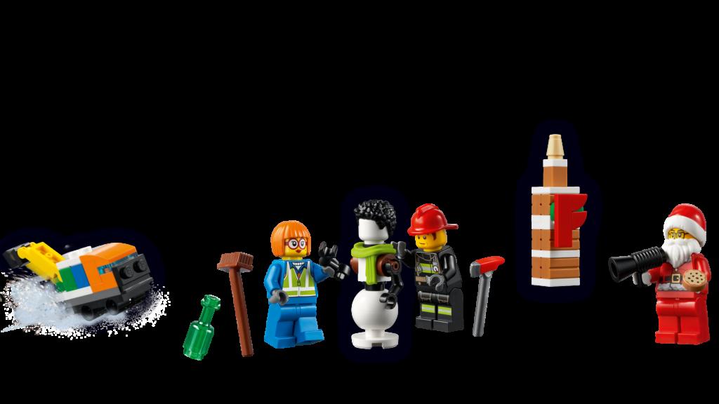 LEGO CITY 60303 CITY Advent Calendar 2