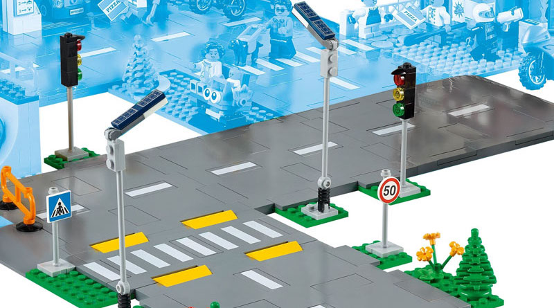 LEGO CITY 60304 Road Plates Featured