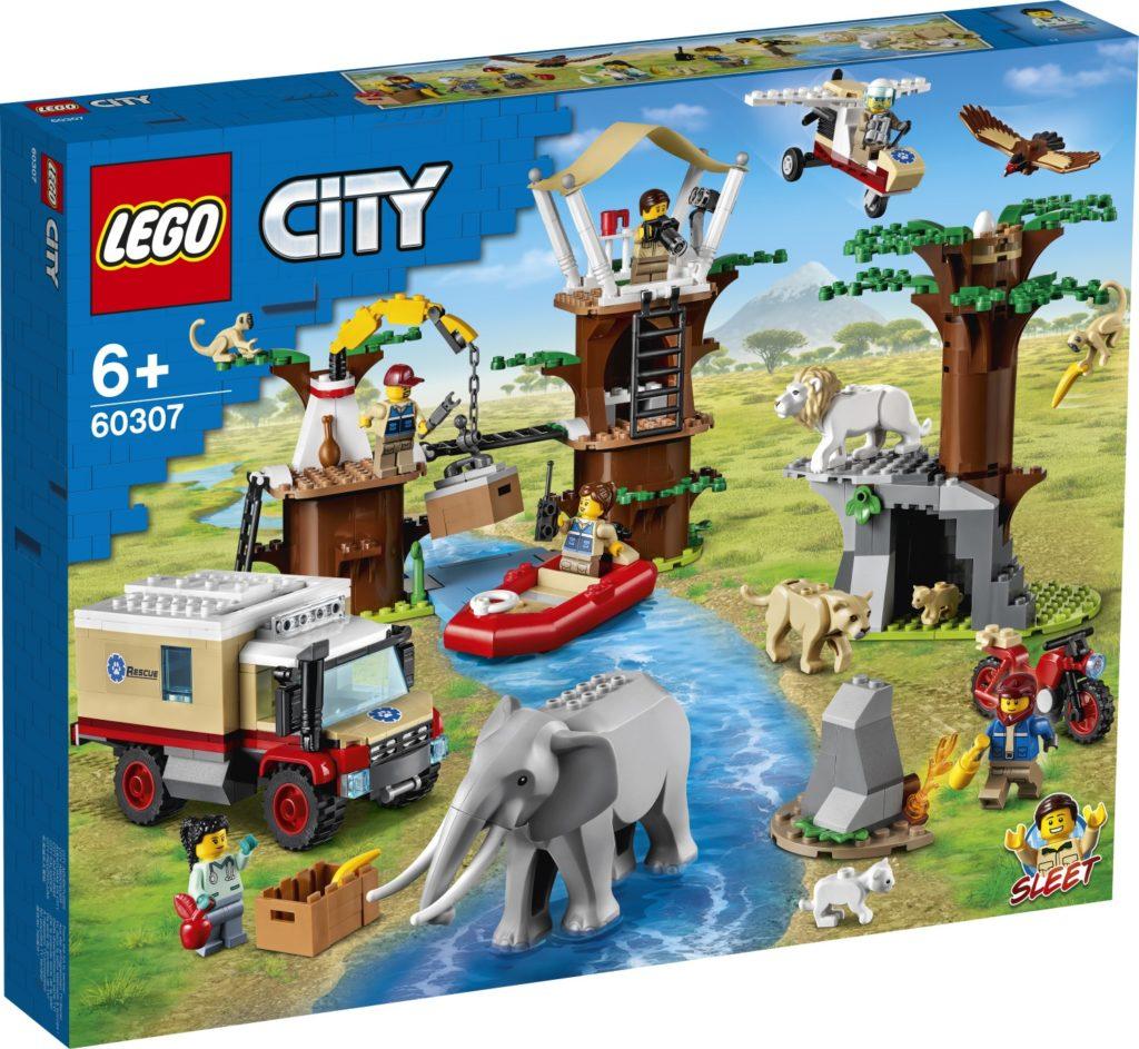 LEGO CITY 60307 Animal Rescue Camp 1