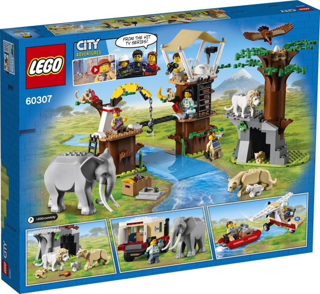 LEGO CITY 60307 Animal Rescue Camp 2