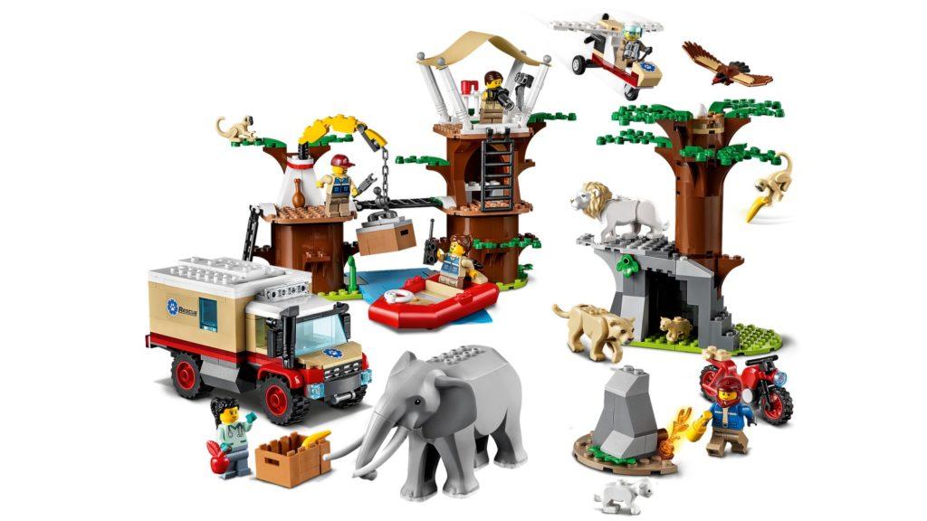 LEGO CITY 60307 Animal Rescue Camp 3