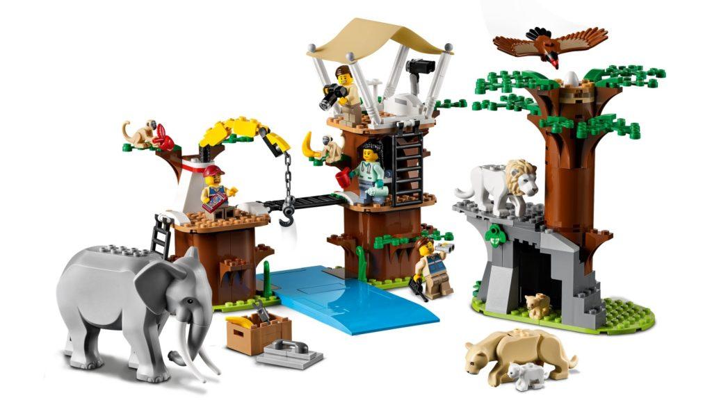 LEGO CITY 60307 Animal Rescue Camp 5