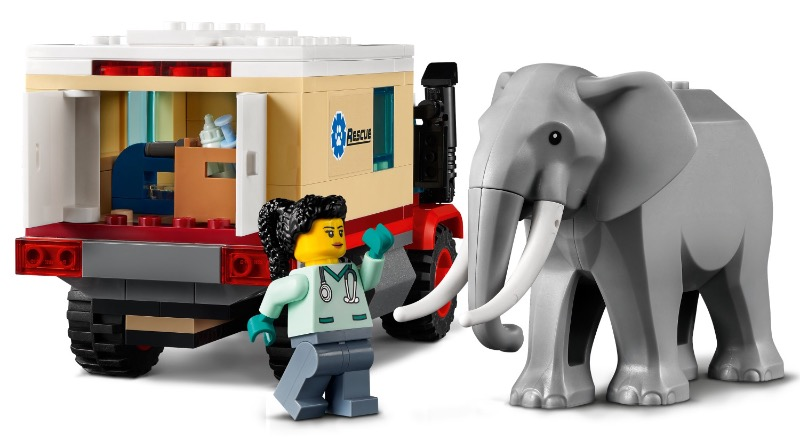 LEGO CITY 60307 Animal Rescue Camp featured