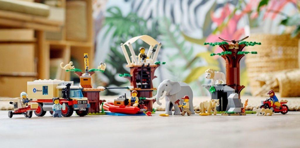 LEGO CITY 60307 Wildlife Rescue Camp 1