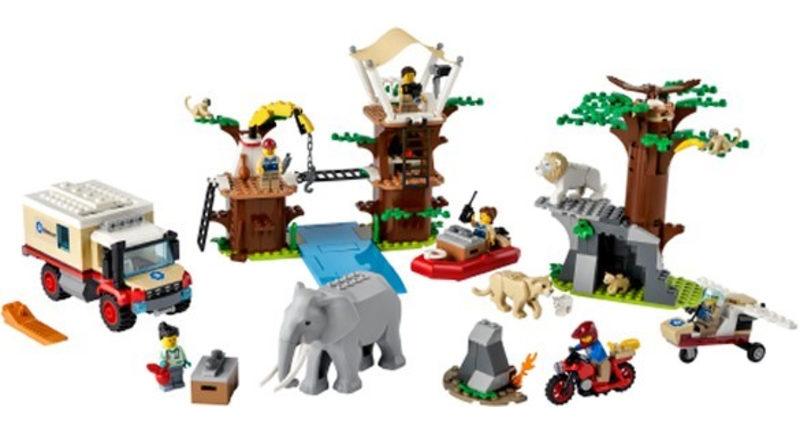LEGO CITY 60307 Wildlife Rescue Camp 800x445