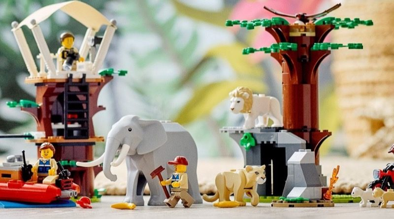 LEGO CITY 60307 Wildlife Rescue Camp featured 1