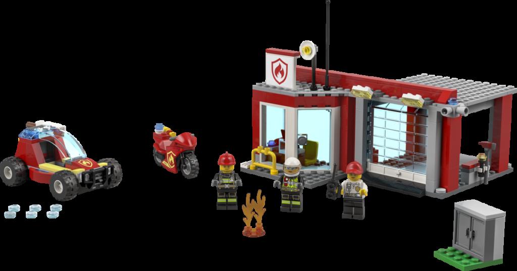 LEGO CITY 77943 Fire Station Starter Set 1