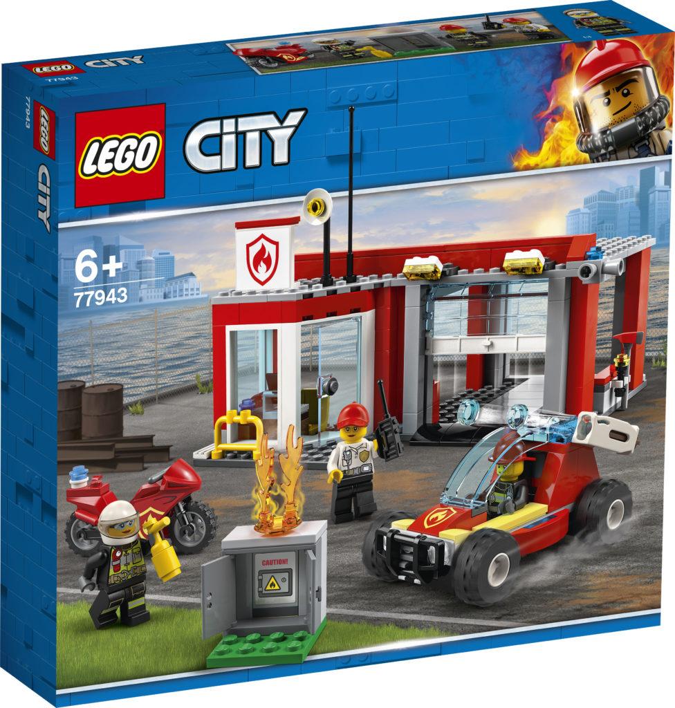 LEGO CITY 77943 Fire Station Starter Set 2