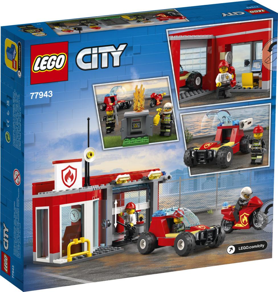 LEGO CITY 77943 Fire Station Starter Set 3