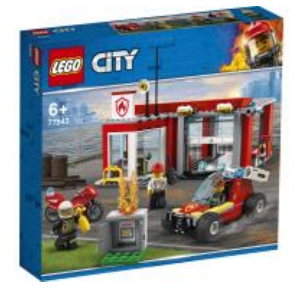 LEGO CITY 77943 Fire Station Starter Set UK conformity document