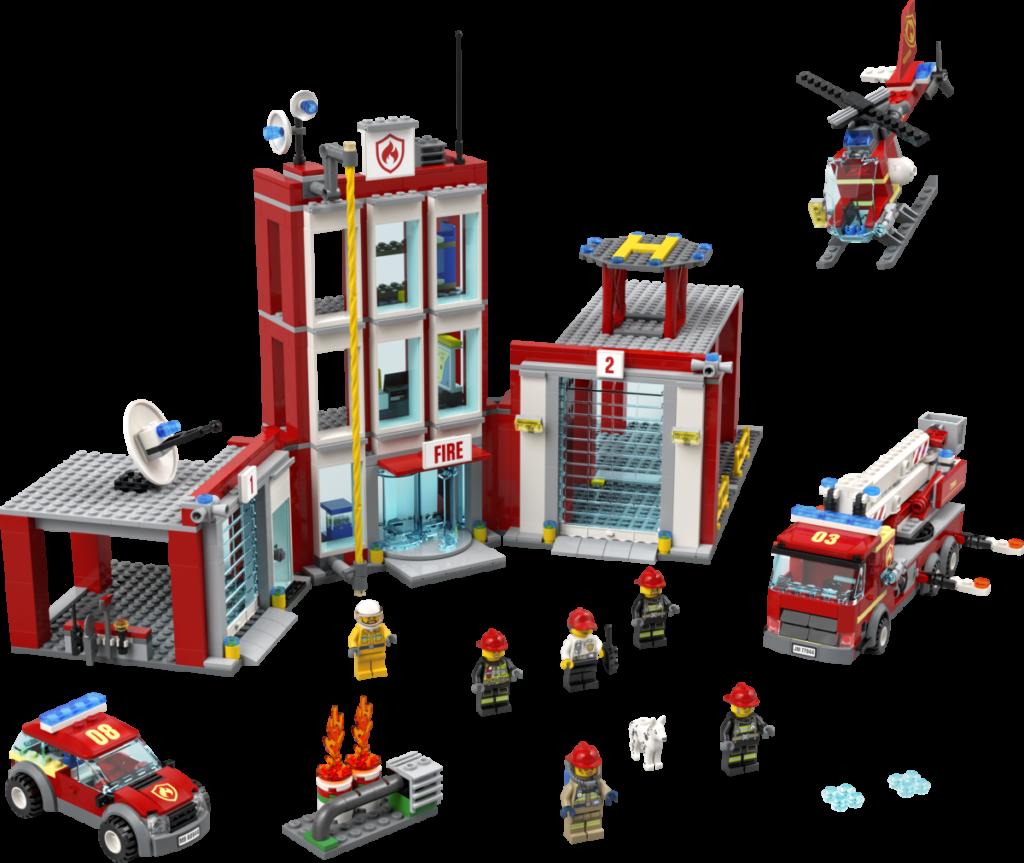 LEGO CITY 77944 Fire Station Headquarters 1