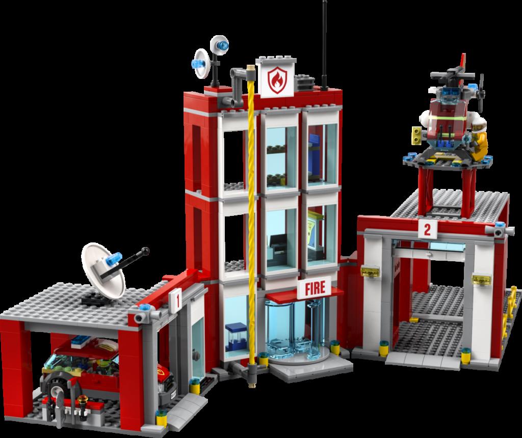 LEGO CITY 77944 Fire Station Headquarters 2