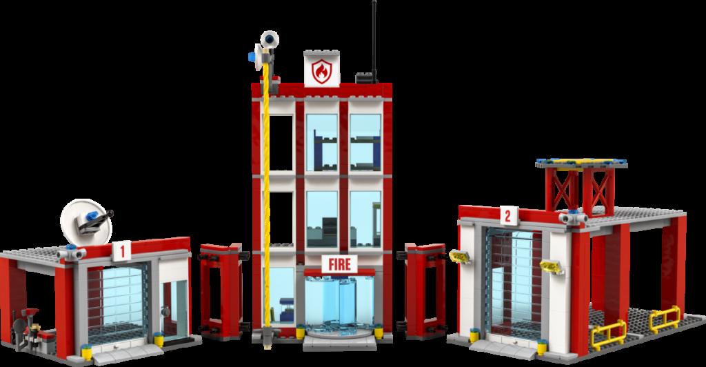 LEGO CITY 77944 Fire Station Headquarters 3