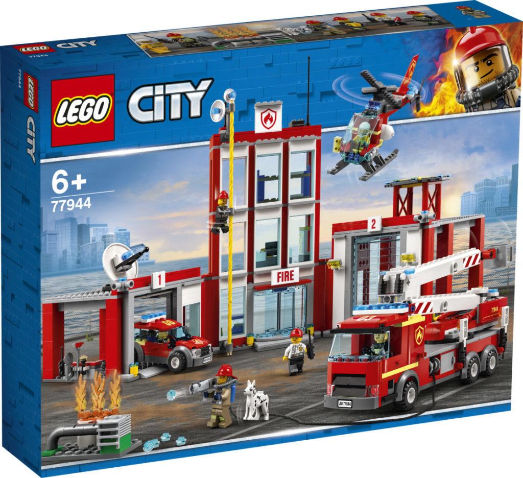 LEGO CITY 77944 Fire Station Headquarters 4