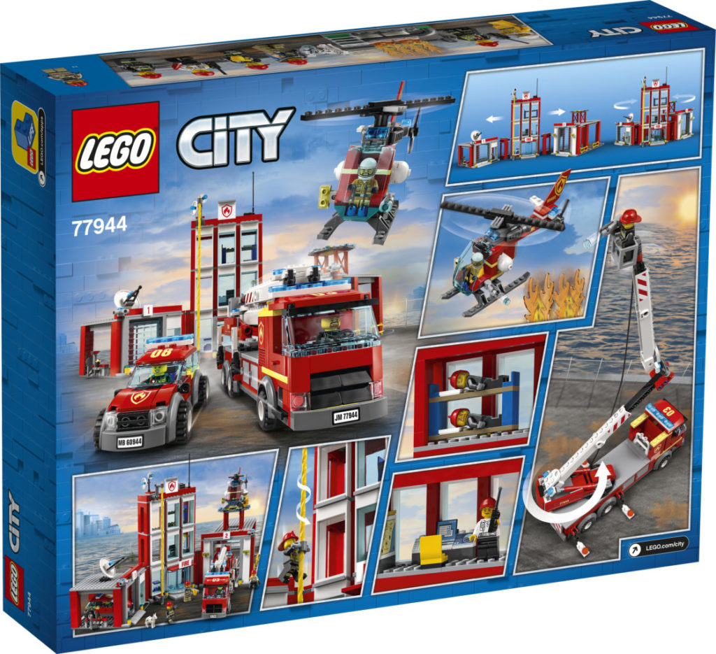 LEGO CITY 77944 Fire Station Headquarters 5