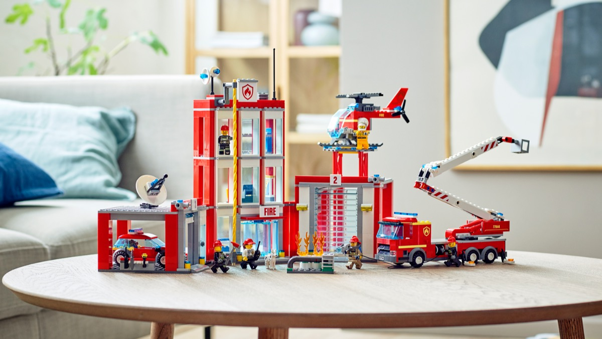 LEGO CITY 77944 Fire Station Headquarters Featured