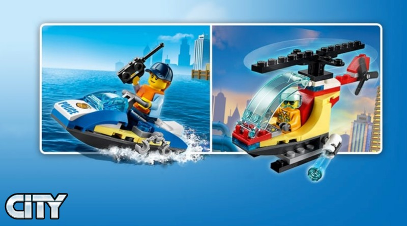 LEGO CITY January 2021 Promos Featured
