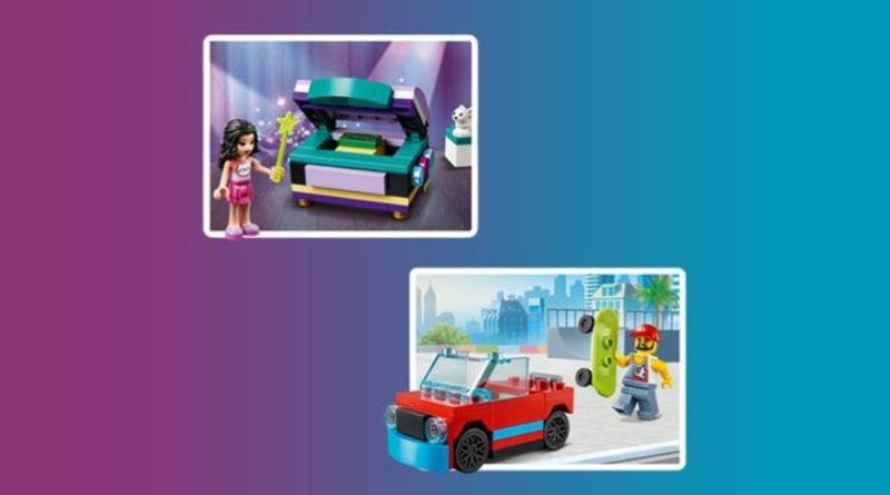LEGO CITY Skater Friends Emmas Magical Box polybag promotion resized featured