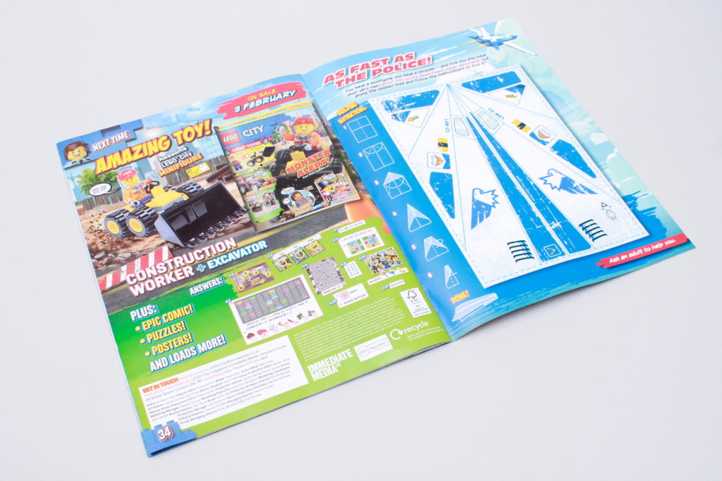 LEGO CITY magazine Issue 35 5
