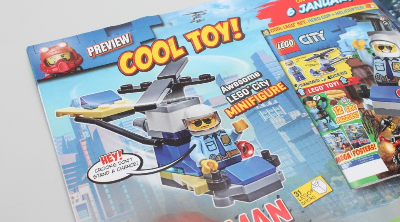 LEGO CITY Magazine Issue 35 Preview Featured