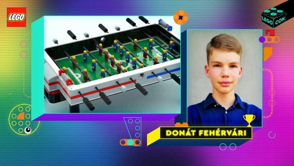 LEGO CON foosball table