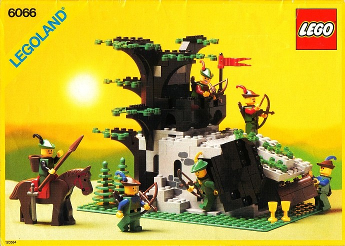 LEGO Castle 6066 Camouflaged Outpost