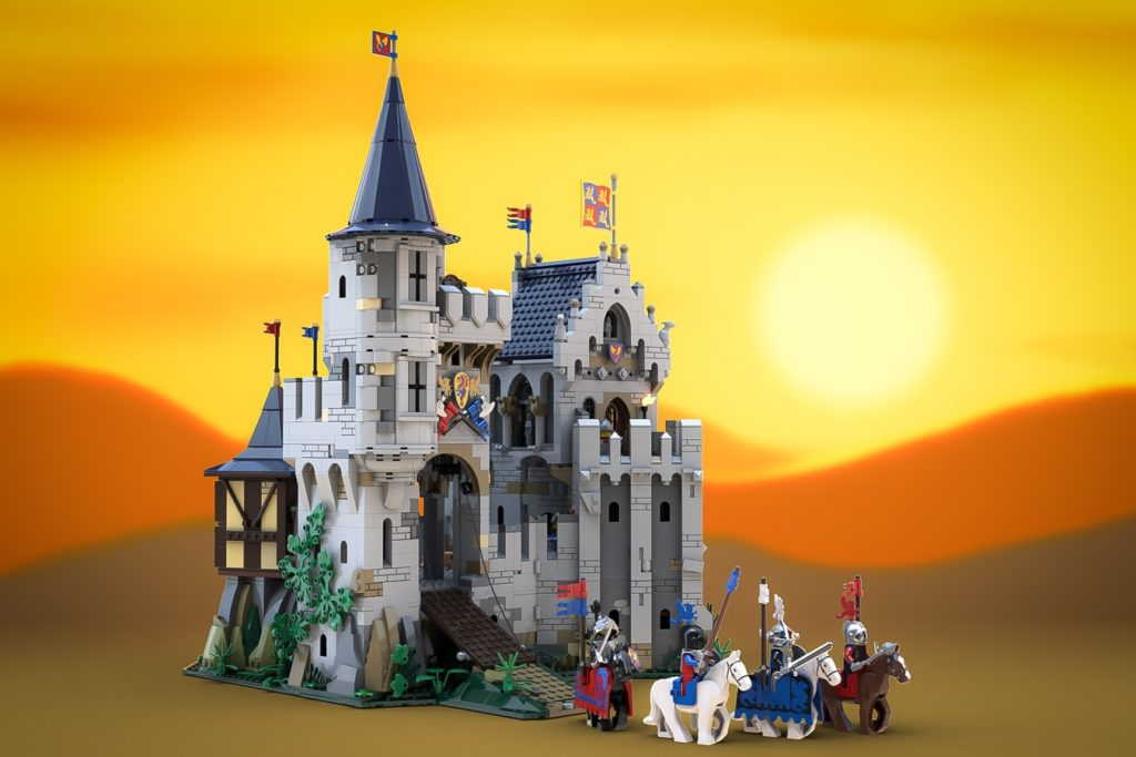LEGO Castle Of Lord Afol And The Black Knights 1