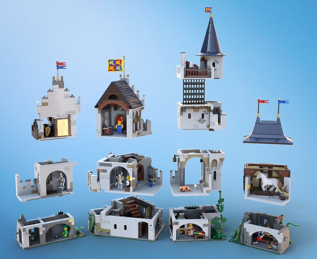 LEGO Castle Of Lord Afol And The Black Knights 3