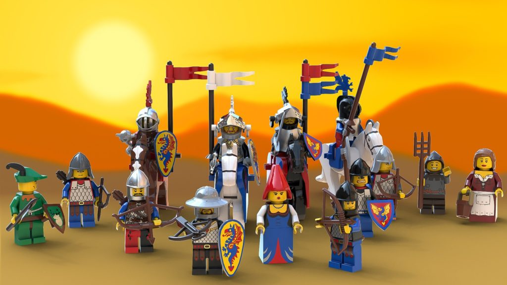 LEGO Castle Of Lord Afol And The Black Knights 4