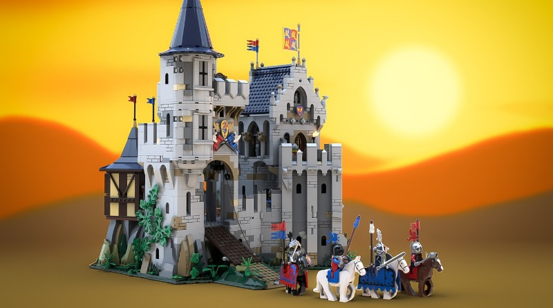 LEGO Castle Of Lord Afol And The Black Knights Featured
