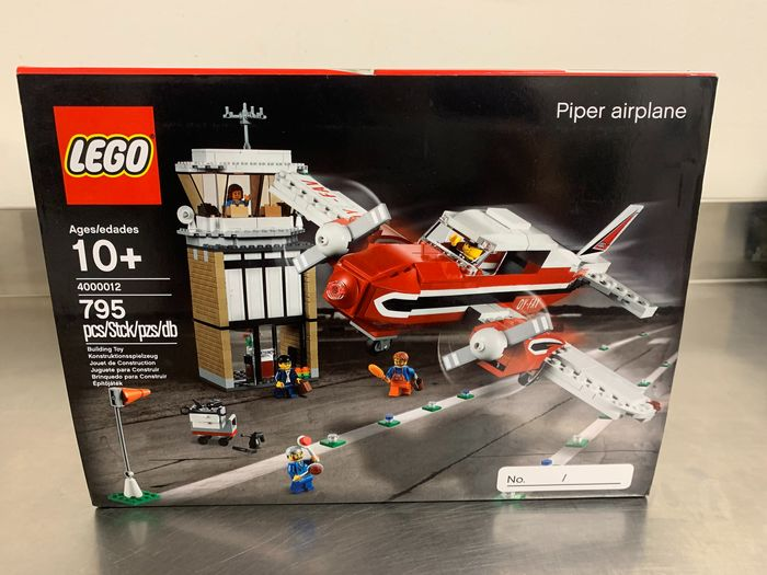 LEGO Catawiki 4000012 Piper Airplane