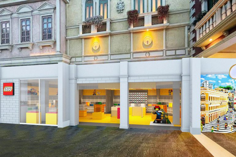 LEGO Certified Store The Venetian Macau Store Front