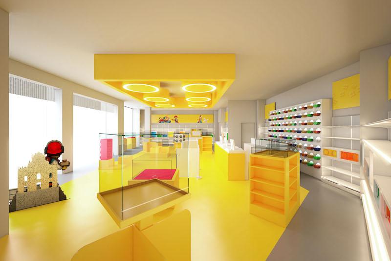 LEGO Certified Store Inside