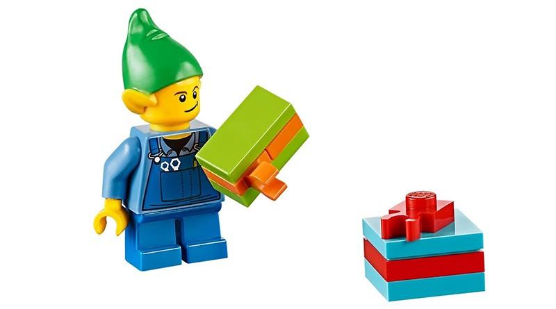 LEGO Christmas Elf Featured
