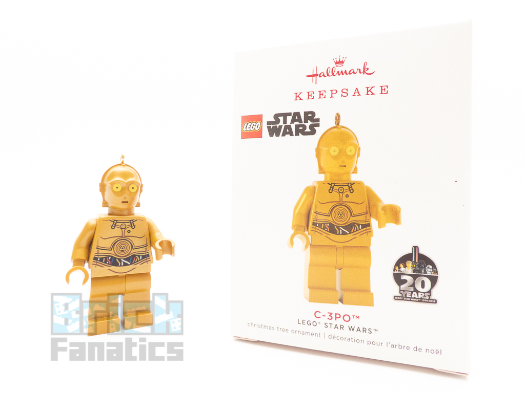 LEGO Star Wars C-3PO Ornament review