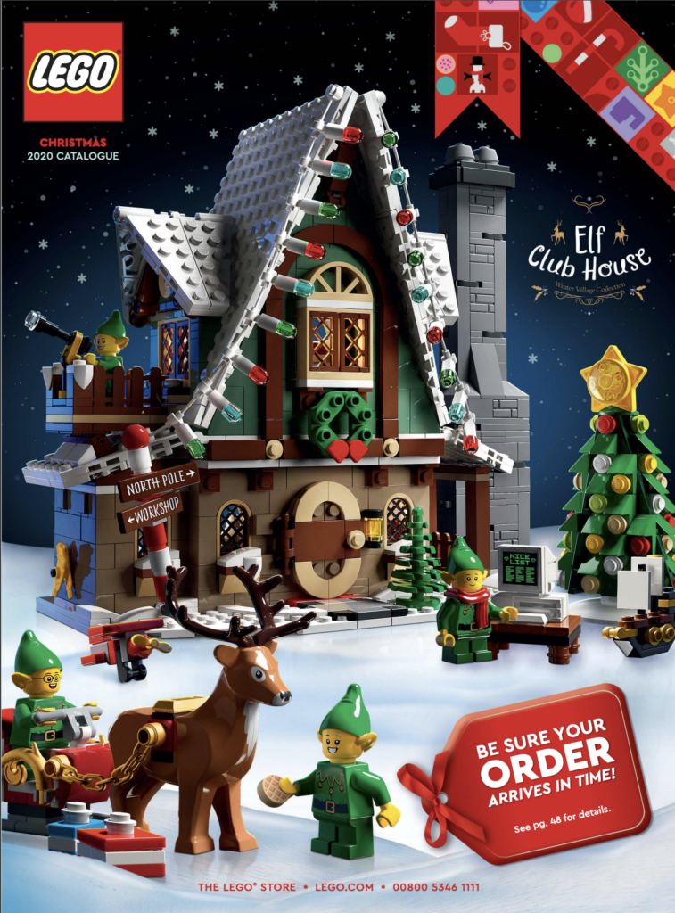 Get into the festive spirit with the LEGO Christmas 2020 catalogue