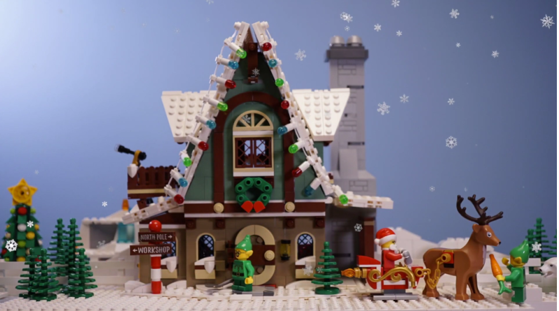 LEGO Christmas Stop Motion Safety Featured