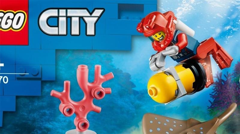 LEGO City 30307 Diver