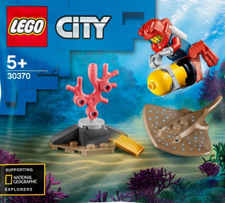LEGO City 30370 Ocean Diver polybag