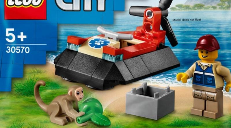 LEGO City 30570 Wildlife Rescue Hovercraft