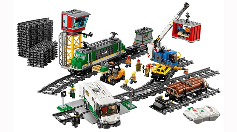 LEGO City 60198 Cargo Train Featured