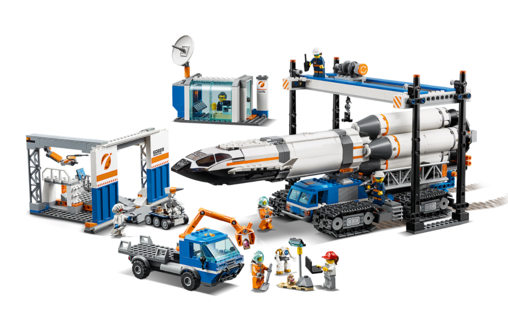 LEGO City 60229 Deep space rockety and transport